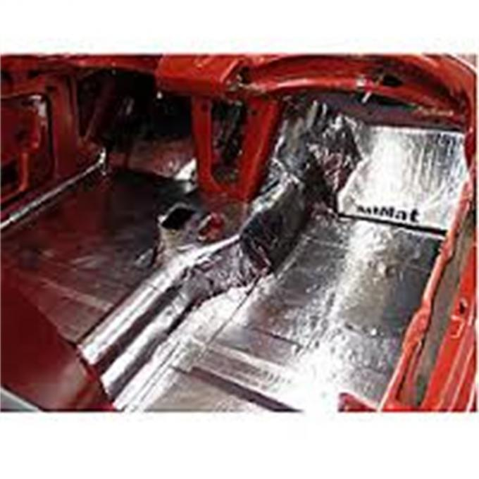 HushMat Ford Mustang 1979-1993   Floor Deadening and Insulation Kit 612781