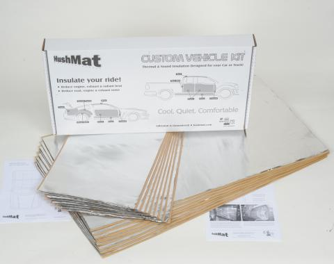 HushMat High Top Truck 70 in. Sleeper Floor Only Insulation Kit 81111
