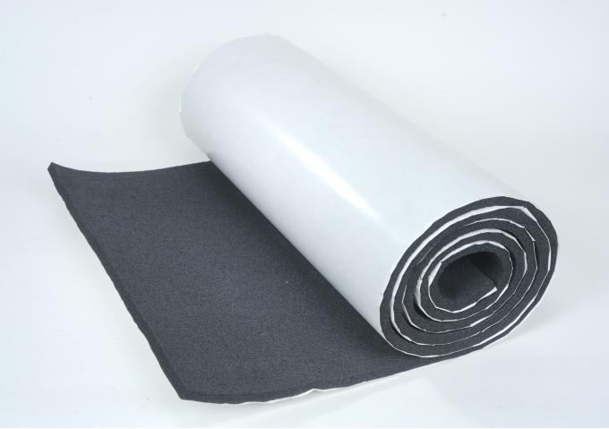 "HushMat 1/ 2"" Silencer Megabond Thermal Insulating Self-Adhesive Foam Shop Roll- 24"" x10' ea 20 sq ft 22510"