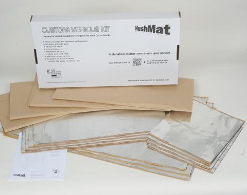 HushMat Universal Flat Top Truck Day Cab and Floor Insulation Kit 80002