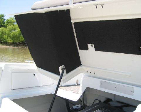 HushMat  Marine Transom Thermal Insulation and Deadener 756442