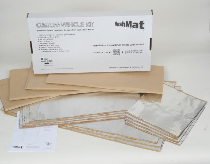 HushMat Universal High Top Cab and Floor Deadening and Insulation Kit 80003
