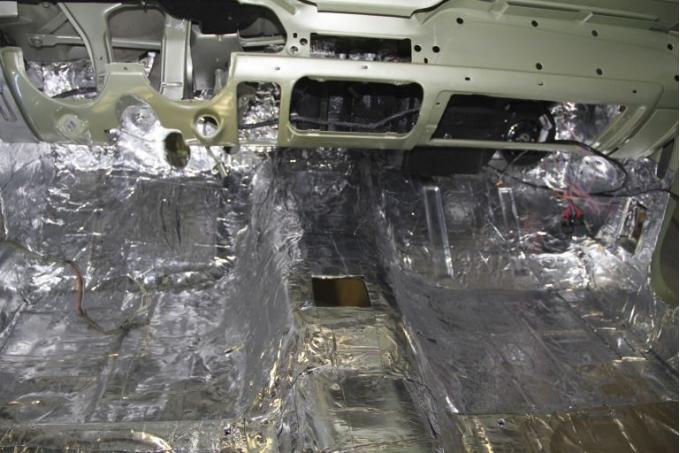 HushMat Ford Mustang 2015-2018   Firewall Deadener and Insulation Kit 612152