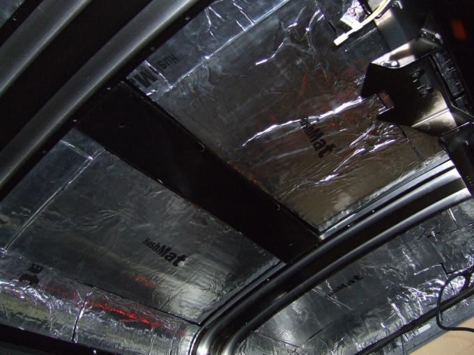 HushMat Mercury Cougar 1967-1970   Roof Thermal Insulation and Deadener 615675