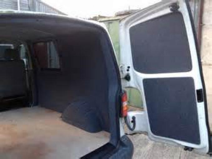 HushMat Mercedes-Benz Sprinter 2500 2015-2018   Rear Door Sound Deadening Insulation Kit 599006