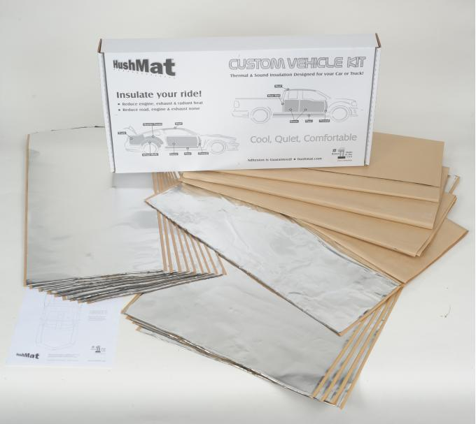 HushMat Porsche 356 1948-1955   Sound and Thermal Insulation Kit 58015