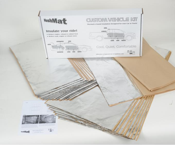 HushMat Porsche 356A 1955-1959   Sound and Thermal Insulation Kit 58030