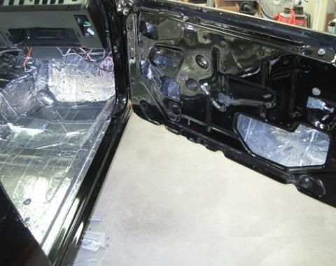 HushMat Ford Mustang 1971-1973   Door Sound Deadening Insulation Kit 612713