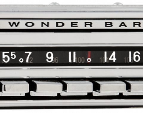 AAR 1958 Chevrolet Corvette Wonderbar AM/FM Reproduction Radio with Bluetooth 382201BT