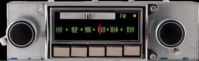 AAR 1969-1971 Chevrolet Corvette AM/FM Reproduction Radio with Bluetooth 752201BT