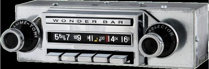 AAR 1959-1960 Chevrolet Corvette Wonderbar AM/FM Reproduction Radio with Bluetooth 402201BT