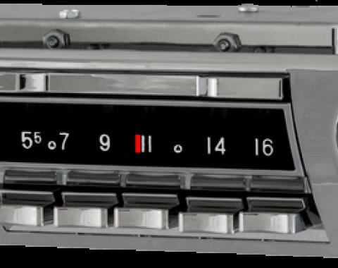 AAR 1959-1960 Chevrolet Cars Wonderbar AM/FM Reproduction Radio with Bluetooth 392201BT