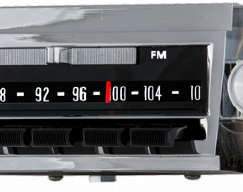 AAR 1966 Chevrolet El Camino AM/FM Reproduction Radio with Bluetooth 512201BT
