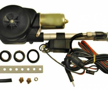Corvette Power Antenna, Chrome, 1963-1982