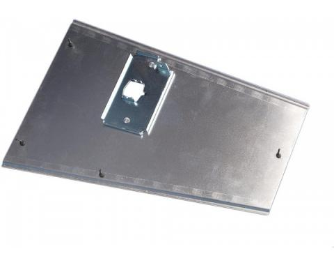 Corvette Antenna Ground Mount Plate, with Reinforcement, 1968-1973