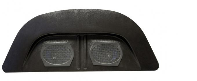 Custom Autosound Rear Panel Speaker Assembly, Volkswagen, with Dual 6x9 Speakers, 1957-1977
