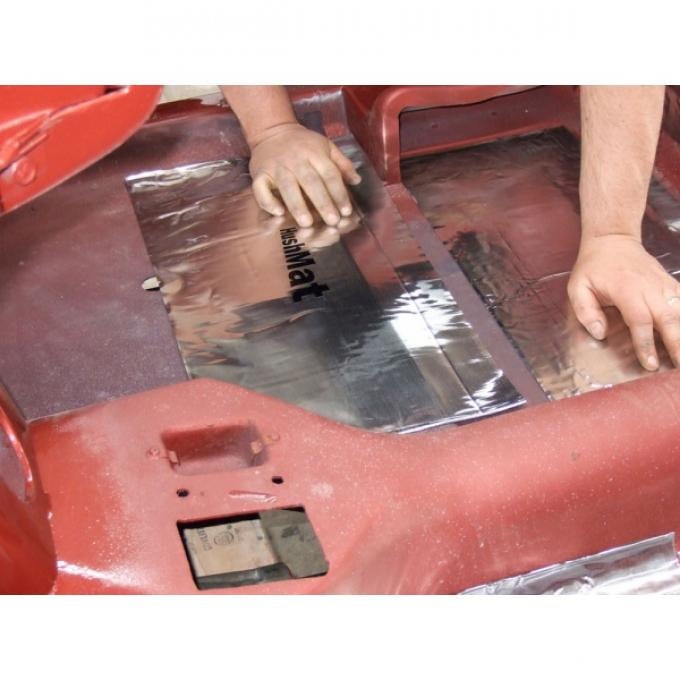 HushMat Ultra Insulation, Floor Pan, Corvette, 1984-2017