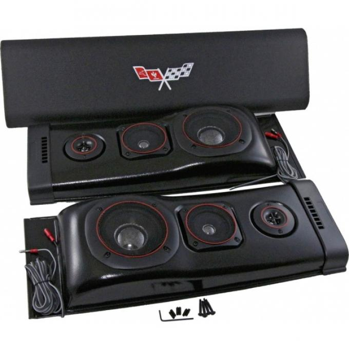 Custom Autosound Challenger Speakers