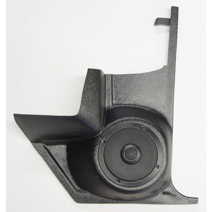Custom Autosound Chevelle Kick Panels with 80 Watt Speakers, For Cars With Air Conditioning, 1964-1967