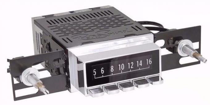 Vintage Radio Dial Screen Protectors for Laguna, Hermosa & Long Beach
