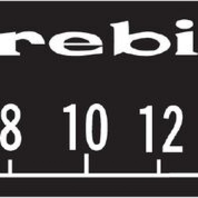 RetroSound Pontiac Firebird Logo Screen Protector, Pkg of 3