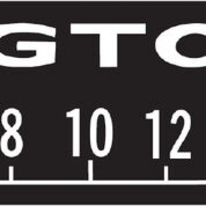 RetroSound Pontiac GTO Logo Screen Protector, Pkg of 3