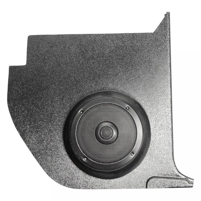 Custom Autosound Falcon/Comet Kick Panels with 80 Watt Speakers, Convertible, 1963-1965