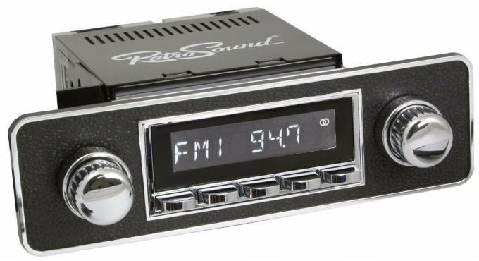RetroSound 1985-89 Merkur XR4 Ti Hermosa Radio with DIN Kit