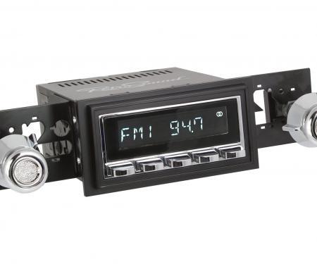 RetroSound 1968-79 Ford F-Series Truck with AM Factory Radio Hermosa Radio