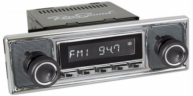 RetroSound 1970-72 Mercedes Benz 250C Long Beach Radio
