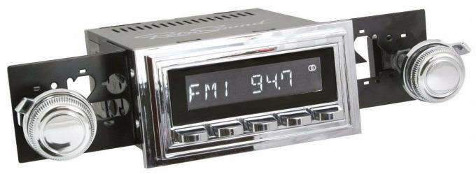 RetroSound 1964-65 Pontiac Catalina Chevrolet Biscayne Hermosa Radio