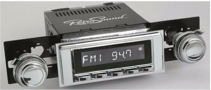 RetroSound 1969-72 Chevrolet Impala Hermosa Radio