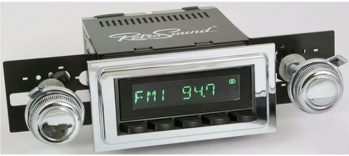 RetroSound 1965-66 Chevrolet Bel Air Long Beach Radio