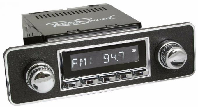 RetroSound 1985-98 Volkswagen Golf Long Beach Radio with DIN Kit
