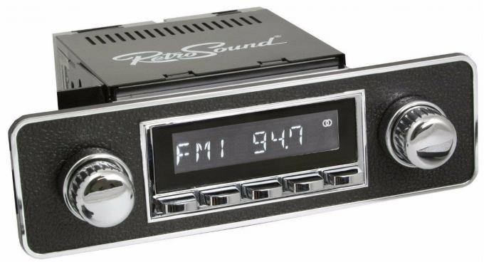 RetroSound 1970-83 Fiat Spider Hermosa Radio with DIN Kit
