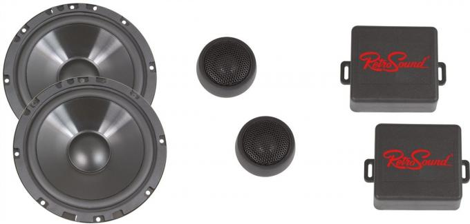 RetroSound 1997-04 Chevrolet Corvette 6.5-Inch Door Component Speaker System