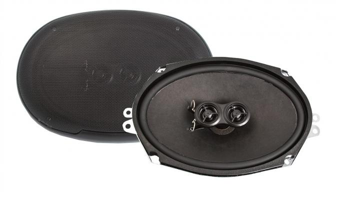 RetroSound 1988-96 Chevrolet Beretta 6x9-Inch 3-Way Rear Deck Speakers