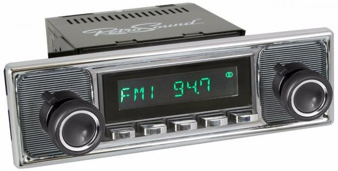 RetroSound 1973-80 Mercedes Benz 450 Series Long Beach Radio