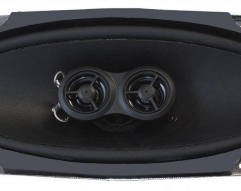RetroSound 4x10-Inch Premium Ultra-thin Dash Replacement Speaker