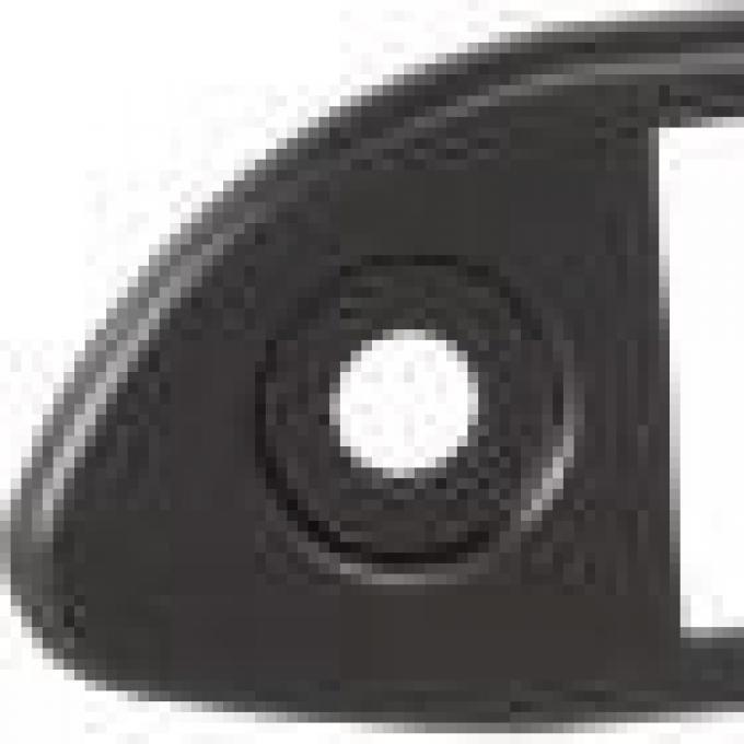 RetroSound Porsche 356 Black Faceplate (#411)