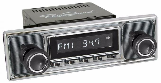 RetroSound 1984-85 Mercedes Benz 190 Series Long Beach Radio
