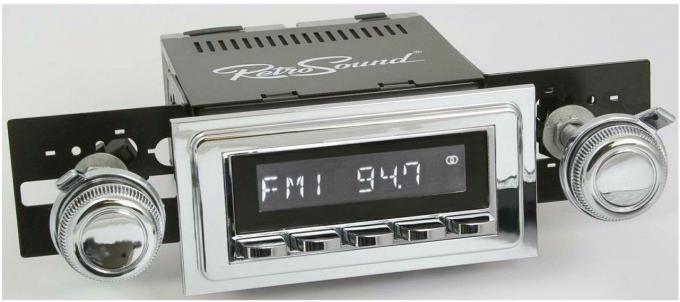 RetroSound 1964-67 Pontiac LeMans Hermosa Radio
