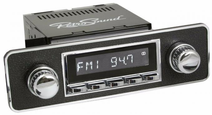 RetroSound 1989-95 Audi 200 Series Hermosa Radio with DIN Kit