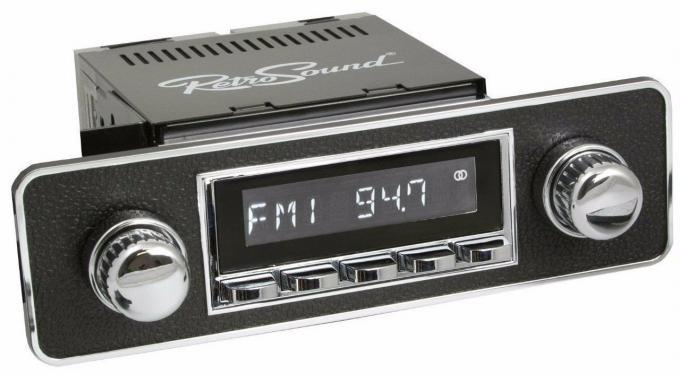 RetroSound 1985-98 Volkswagen GTI Long Beach Radio with DIN Kit