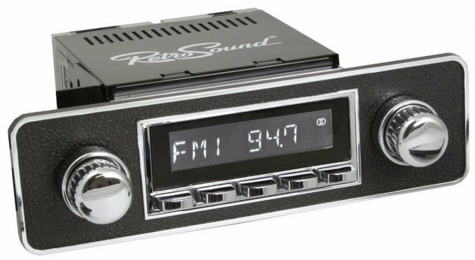 RetroSound 1980-84 Volkswagen Rabbit Long Beach Radio with DIN Kit