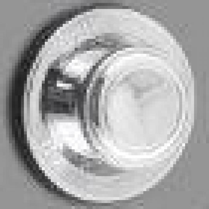 RetroSound Chrome Front Knobs (#13) / Oldsmobile Cutlass Chrome Rear Knobs (#83)