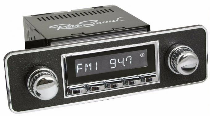 RetroSound 1980-92 Volkswagen Vanagon Laguna Radio with DIN Kit