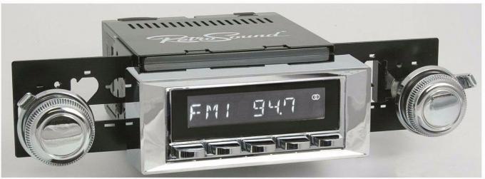RetroSound 1965-66 Chevrolet Biscayne Hermosa Radio