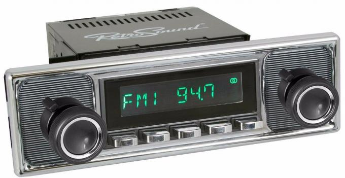 RetroSound 1987 Audi 4000 Series Long Beach Radio