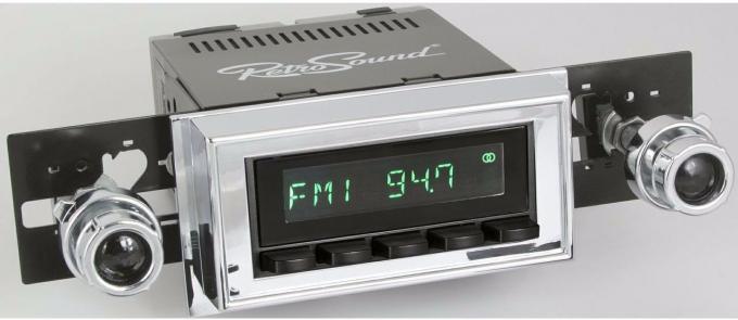 RetroSound 1960-62 Buick Electra Long Beach Radio